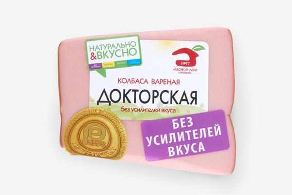 Колбаса вареная Докторская в синюге в/у кусок